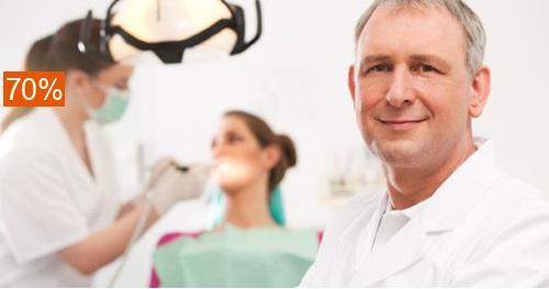 Сертификат номиналом 3800 руб. на стоматологические услуги. Скидка 70%!