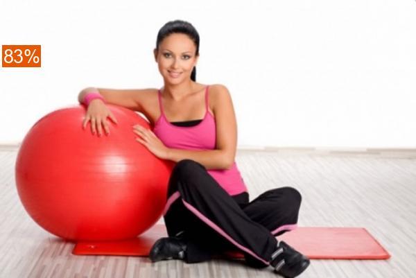 Занятие фитнесом в группах — 10 занятий. Скидка 81%!