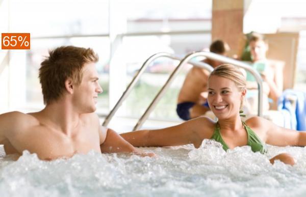 Скидка 65% на 3 часа отдыха в аквазоне с бассейном и сауной!